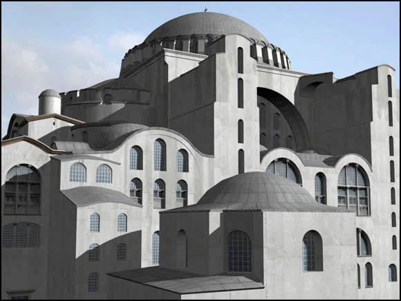 Собор Святой Софии. Реконструкция 1200., Жоффруа де Вилларду…